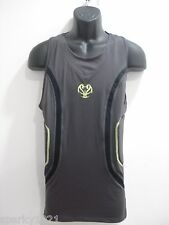 Under Armour Heat Gear Compression Basketball Gray Padded Tank Men's Size XXL