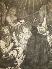 Bronisław ZALESKI (1819-1880) GRAVURE KIBITKA Kirghizistan POLOGNE POLAND 1865