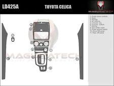 Dash Trim Kit for TOYOTA CELICA 00 01 02 03 04 05 carbon fiber wood aluminum