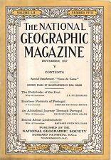 1927 National Geographic November - Liechtenstein; Portugal; Vasco da Gama