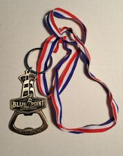 Blue Point Oh Limb Pick Olympic Gold Medal Bottle Opener and Empty Beer Can