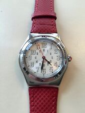 """SWATCH WATCH """"RED AMAZON"""" VERY RARE NEW COLLECTABLE YLS103 GREAT GIFT NIB"""