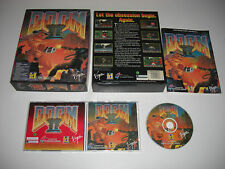 DOOM II 2 Hell on Earth IBM Pc Cd Rom Original BIG BOX - Fast Post