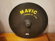 Mavic Comete rare vintage time trial, thriatlon Rear Disc carbon, tubular