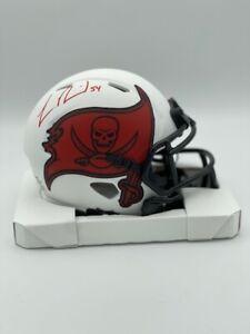 Lavonte David Signed Tampa Bay Buccaneers Lunar Eclipse Mini Helmet COA Holo