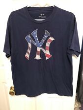 New York Yankees Fanatics USA Theme Logo Shirt Size XXL