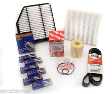 Lexus IS/GS AWD TUNE-UP SERVICE KIT Air/Cabin/Oil Filters + Spark Plugs + Belt