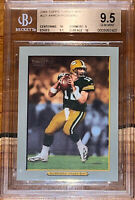 Aaron Rodgers 2005 Topps TURKEY RED RC 221 BGS 9.5, 10 subs .5 from PRISTINE PSA
