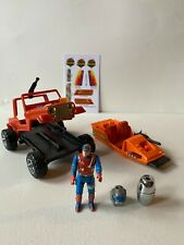 M.A.S.K. Gator Jeep Toy - 100% Complete D. Hayes Figure + Unused Rep Decals