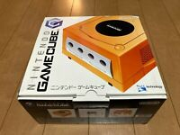 Nintendo GameCube Console & Controller Orange Color with BOX and Manual