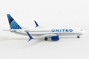 Herpa Wings 533744 United Boeing 737-800 'New 2019 Livery' 1/500 Scale Model