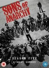 Sons of Anarchy Complete Season 5 Digital Versatile Disc DVD Region 2 BRAND