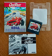Out Run Game Sega Game Gear Complete Out-Run