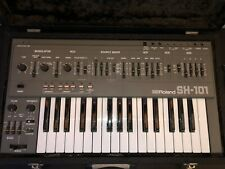 More details for roland sh101 - includes original power supply / manual and flight-case