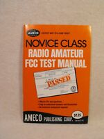 Novice Class Radio Amateur FCC Test Manual..Official Test Questions. 0912146214