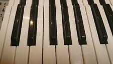 Yamaha DX7 2 FD Replacement Key A,B,C,D,E,F,G, Sharp or Flat, black key