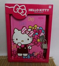 Brand New Kawaii Cutie Korean Version Hello Kitty Diary Note Book W/ Lock A