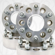 4 CHEVY GMC CADILLAC | 2 inch | WHEEL SPACERS | ADAPTERS | 6X5.5 | 14x1.5 STUDS