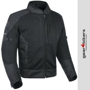 Oxford Toledo Air 2.0 Mesh Tech Black Textile Motorcycle Jacket Commuter Scooter