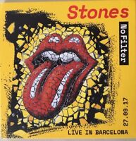 "THE ROLLING STONES : ""In filter"" (Barcelona 2017) (RARE 2 CD)"