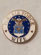"US AIRFORCE  ""WIFE"" Pin 15/16 inch"