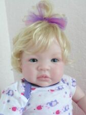 "Reborn 19"" infant baby girl doll ""Shyann"" now ""Peaches and Cream Savannah"""