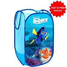 Dory Pop Up Mesh Cesto Cesto per biancheria Borsa Bin giocattolo Tidy Storage Bambini Boy Girl