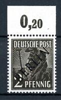 Berlin MiNr. 1 P OR ndgz postfrisch MNH (BT31