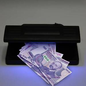 Counterfeit UV Fake Money Detector Bank Note Card Checker Authenticity Check new