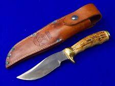 """1978 Custom Hand Made R.H. RUANA Model 27 C """"M"""" Marked Skinner Hunting Knife"""