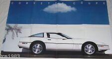 1989 Chevrolet Brochure w/CORVETTE,CAMARO,BERETTA,CORSICA,CELEBRITY,CAVALIER