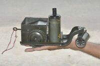Vintage Wind Up Litho Green Road Roller Tin Toy, Germany?