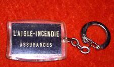 porte-clé Keychain Assurances AIGLE - INCENDIE  Aigle en or golden eagle