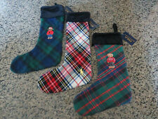 Polo RALPH LAUREN Christmas Stocking Polo Bear Polo Pony Player
