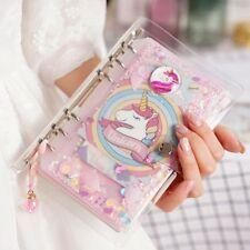 Unicorn Planner Book Suit A6 Spiral Notebook Handbook Students Supply Office