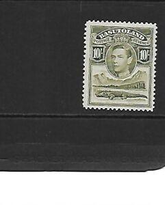Basutoland 1938 10/- Olive-Green mm
