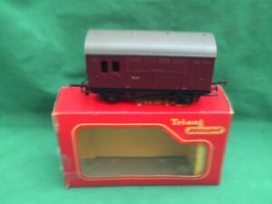 TRIANG/HORNBY R.123 HORSE BOX WAGON VERY GOOD BOXED CONDITION