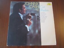 Johnny Cash & The Tennessee Two - Get Rhythm LP SUN 105 VG/EX
