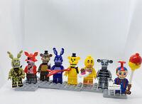 Five Nights At Freddy's (Original) Custom Figure Set  ((US SELLER - FITS LEGO))