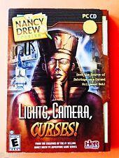 Nancy Drew Lights Action Camera - NEW Sealed CD Rom Software