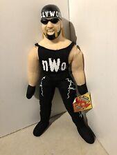 """hollywood hulk hogan 12"""" Plush NWO WCW With Tag"""