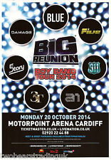 Event Promo Flyer: The Big Reunion Boy Band Tour 2014 (Motorpoint, Cardiff)