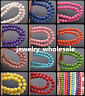 100pcs Charm Round Howlite Turquoise Loose Spacer Beads 6mm 12 Color U Pick