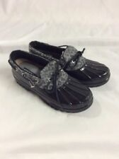 Sperry Top Sider Women's Shoes Duck Boots Size 6M Leapord