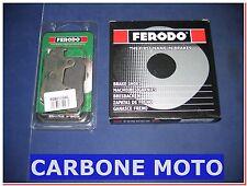 KIT GANASCE FRENO POSTERIORI + PASTIGLIE ANT. FERODO HONDA SH 150  '00>'08