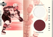 01-02 UD Challenge for the Cup Then & Now JOE SAKIC JSY