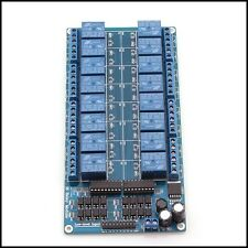 New 16-Channel 12V Relay Module. For Arduino UNO MEGA 2560 R3 ATMEL ATMEGA 1280
