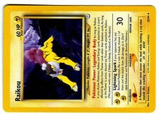 POKEMON NEO REVELATION ( In ENGLISH ) ENGLISH RARE N° 22/64 RAIKOU