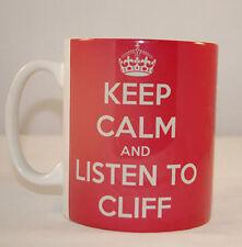 KEEP CALM AND LISTEN TO CLIFF RICHARDS - GLOSSY  PHOTO MUG