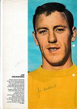 JIM CRUIKSHANK HEART OF MIDLOTHIAN 1960-77 & DEREK POSSEE RARE ORIG SIGNED PIC
